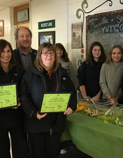 Fresh Lunch Honouring Foodland for Support
