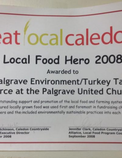 Local Food Hero 2008