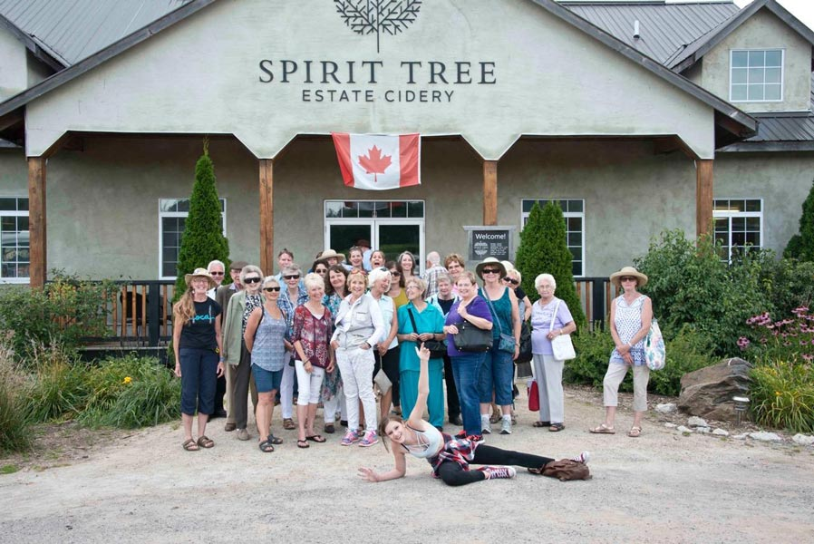 Local Farm Tour: Spirit Tree Estate Cidery Orchard